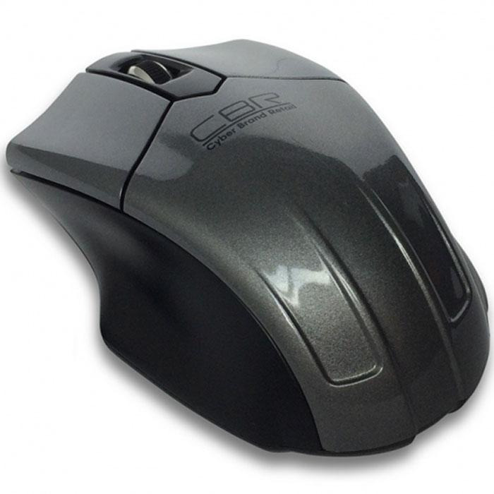 CBR CM 677, Grey мышь беспроводная