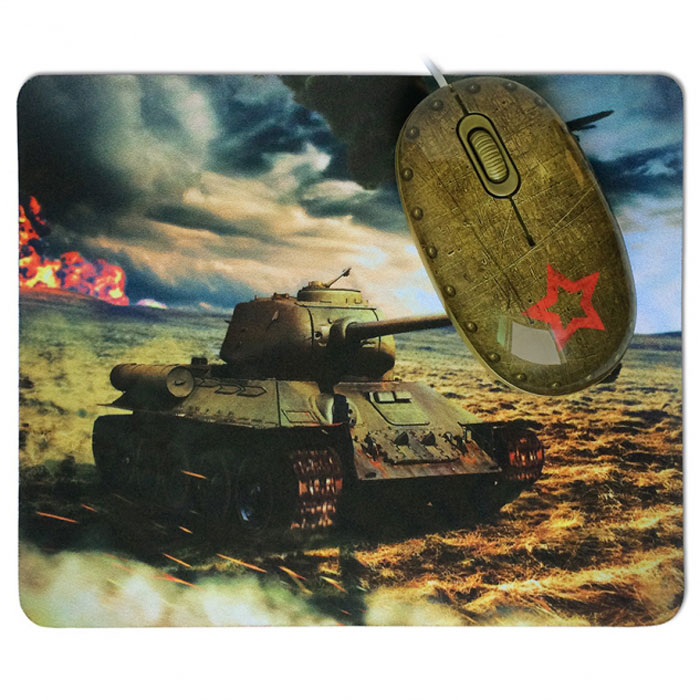 CBR Tank Battle мышь + коврик