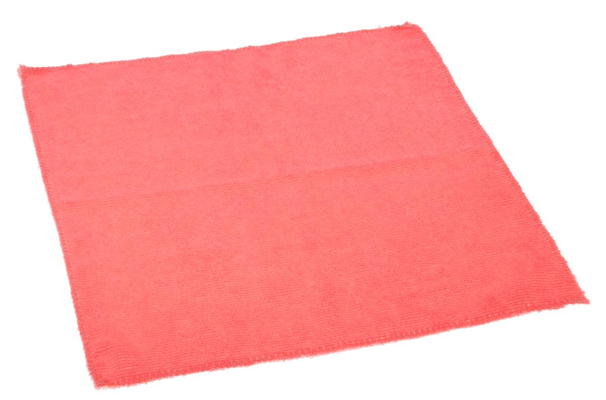 Салфетка для уборки Eva, цвет: коралловый, 30 х 30 смЕ4801_коралловыйСупервпитывающая салфетка Eva, изготовленная из микрофибры, прекрасно подойдет для влажной уборки. Изделие обладает высокой износоустойчивостью и рассчитано на многократное использование, легко моется в теплой воде с мягкими чистящими средствами. Такая салфетка не оставляет разводов и ворсинок, удаляет большинство жирных и маслянистых загрязнений без использования химических средств.