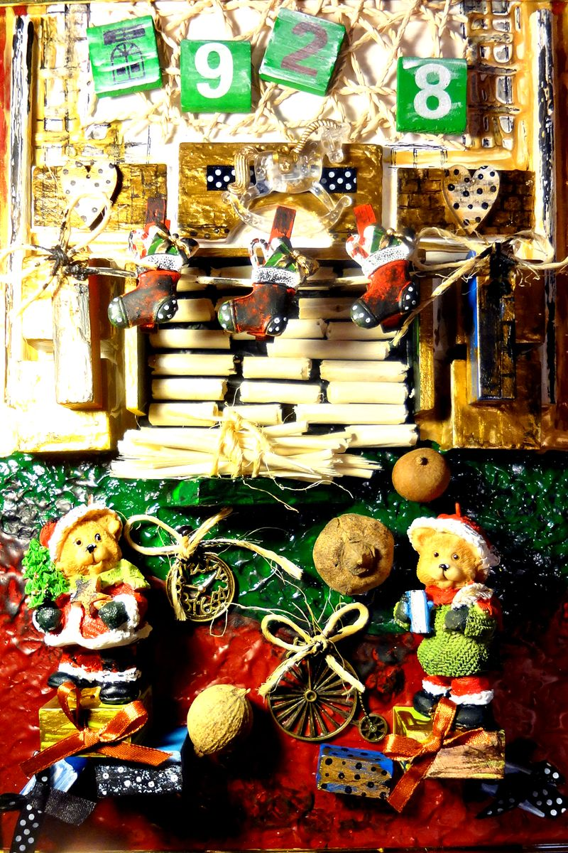 Авторская объемная картина для детской Рождественский вечер, 35 х 25 смАКДДРВНет ничего прекраснее ощущения праздника! Сказочная картина для детской украшена объемными декоративными элементами.Создана картина в стиле старых винтажных картин. Холст на картоне, акрил, объемные декоративные элементы. Багет. Подвес на обратной стороне.Картина не требует дополнительной защиты, ее достаточно повесить на стену. Оформления не нужно. Ронять не рекомендуется.