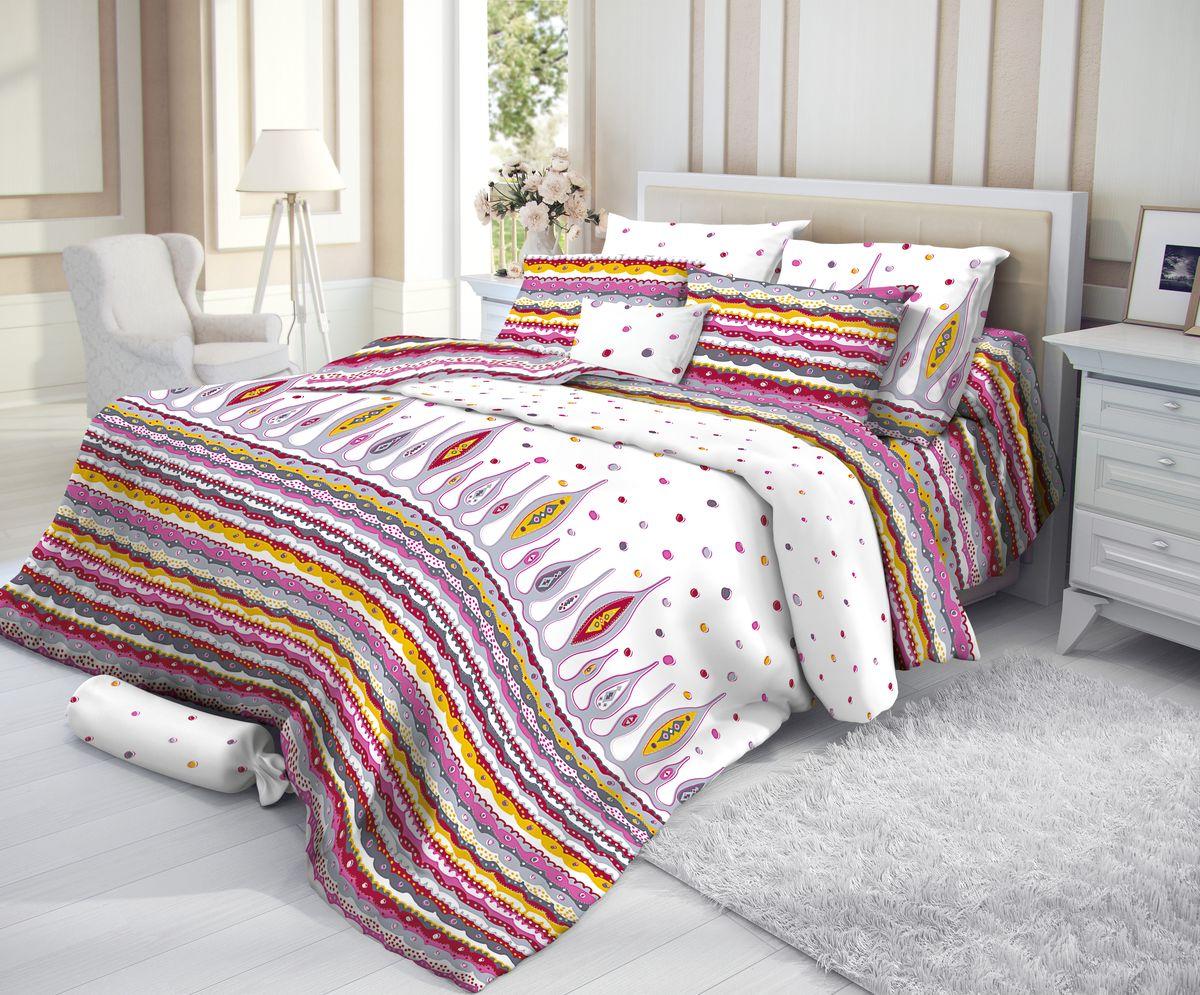 цена на Verossa 2,0-спальный комплект постельного белья 1 простынь 220/240см, 1 пододеяльник 180/215см, 2 наволочки 50/70см, САТИН хлопок 100%, PAUL