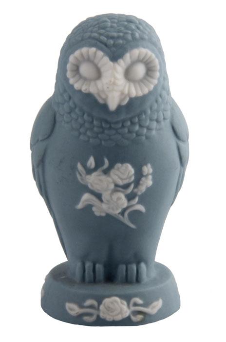 Статуэтка Сова в стиле Веджвуд из серии The Curio Cabinet Owls Collection. Двуцветный бисквит. The Franklin Mint, США, конец XX века коровин в конец проекта украина