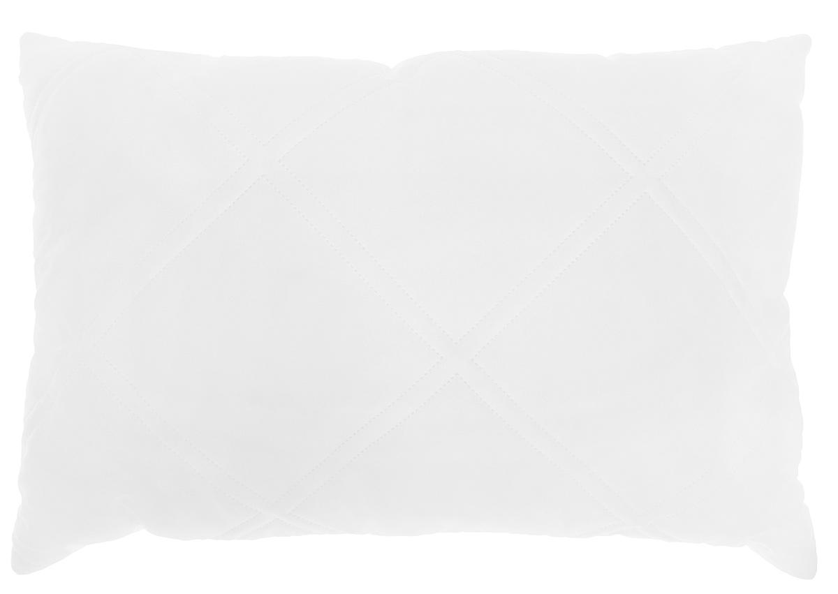 Подушка Подушкино Экокомфорт, наполнитель: экофайбер, цвет: белый, 50 х 72 см110510110-29Подушка Подушкино Экокомфорт создаст комфорт и уют во время сна. Чехол выполнен из биософта. Внутри - экофайбер. Подушка с экологически чистым заменителем пуха - экофайбером - не вызывает аллергии, надолго сохраняет упругость и первоначальную форму. Размер подушки: 50 см х 72 см. Состав чехла: биософт (100% полиэстер). Наполнитель: экофайбер (100% полиэстер).