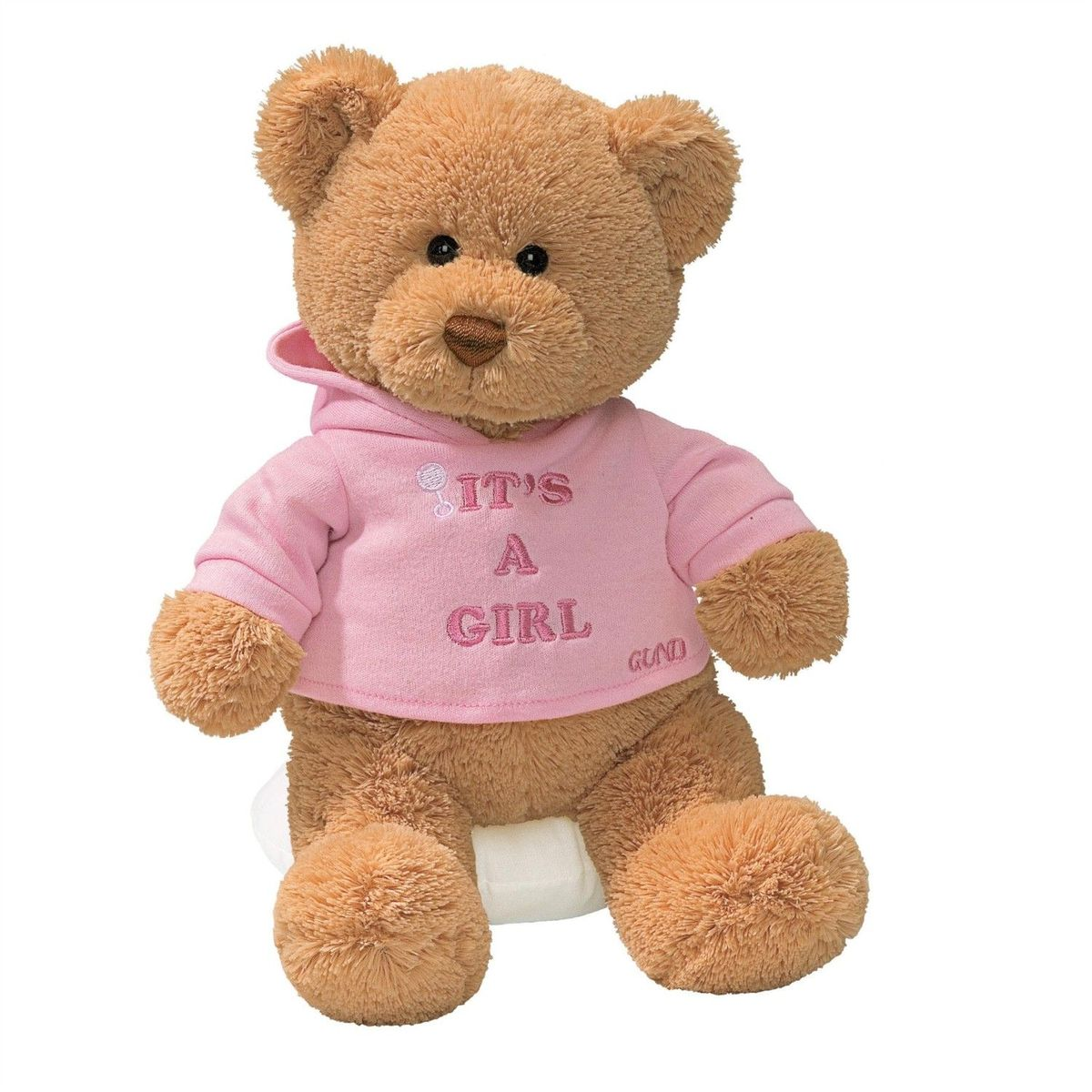 Gund Мягкая игрушка It's a girl 30 см gund игрушка мягкая farm свинка со звуком