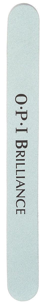 OPI Пилка для ногтей Brilliance, полировочная, двусторонняя opi набор crystal fixation al714 15 мл кристальная пилка
