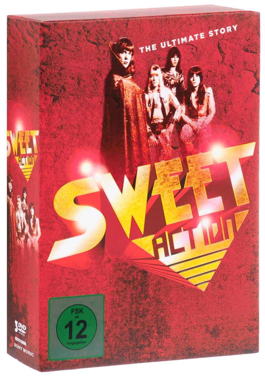 Sweet: Action The Ultimate Story (3 DVD)