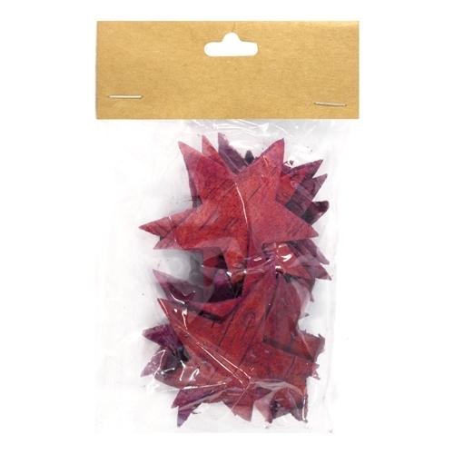 Декоративный элемент Dongjiang Art Звезда, цвет: фуксия, 12 шт7709007_розовыйДекоративный элемент Dongjiang Art Звезда, изготовленный из натуральной коры дерева, предназначен дляукрашения цветочных композиций. Изделие выполнено в виде звезды, которое можно также использовать втехнике скрапбукинг и многом другом.Флористика - вид декоративно-прикладного искусства, который использует живые, засушенные иликонсервированные природные материалы для создания флористических работ. Это целый мир, в котором естьместо и строгому математическому расчету, и вдохновению.Размер одного элемента: 6,5 см х 5,5 см.
