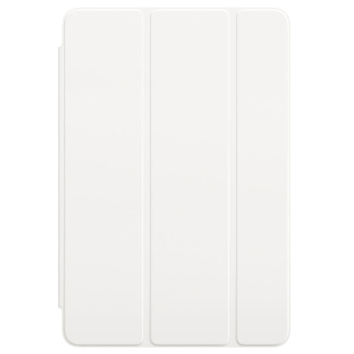 Apple Smart Cover чехол для iPad mini 4, WhiteMKLW2ZM/AОбложка Apple Smart Cover для iPad mini 4 создана из цельного листа полиуретана, чтобы защищать переднюю панель вашего устройства. Smart Cover автоматически выводит iPad из режима сна при открытии и переводит в режим сна при закрытии. Она складывается различными способами, что позволяет использовать её как подставку для чтения, просмотра фильмов, набора текста или звонков FaceTime. Обложка снимается и надевается очень легко, в любой момент.