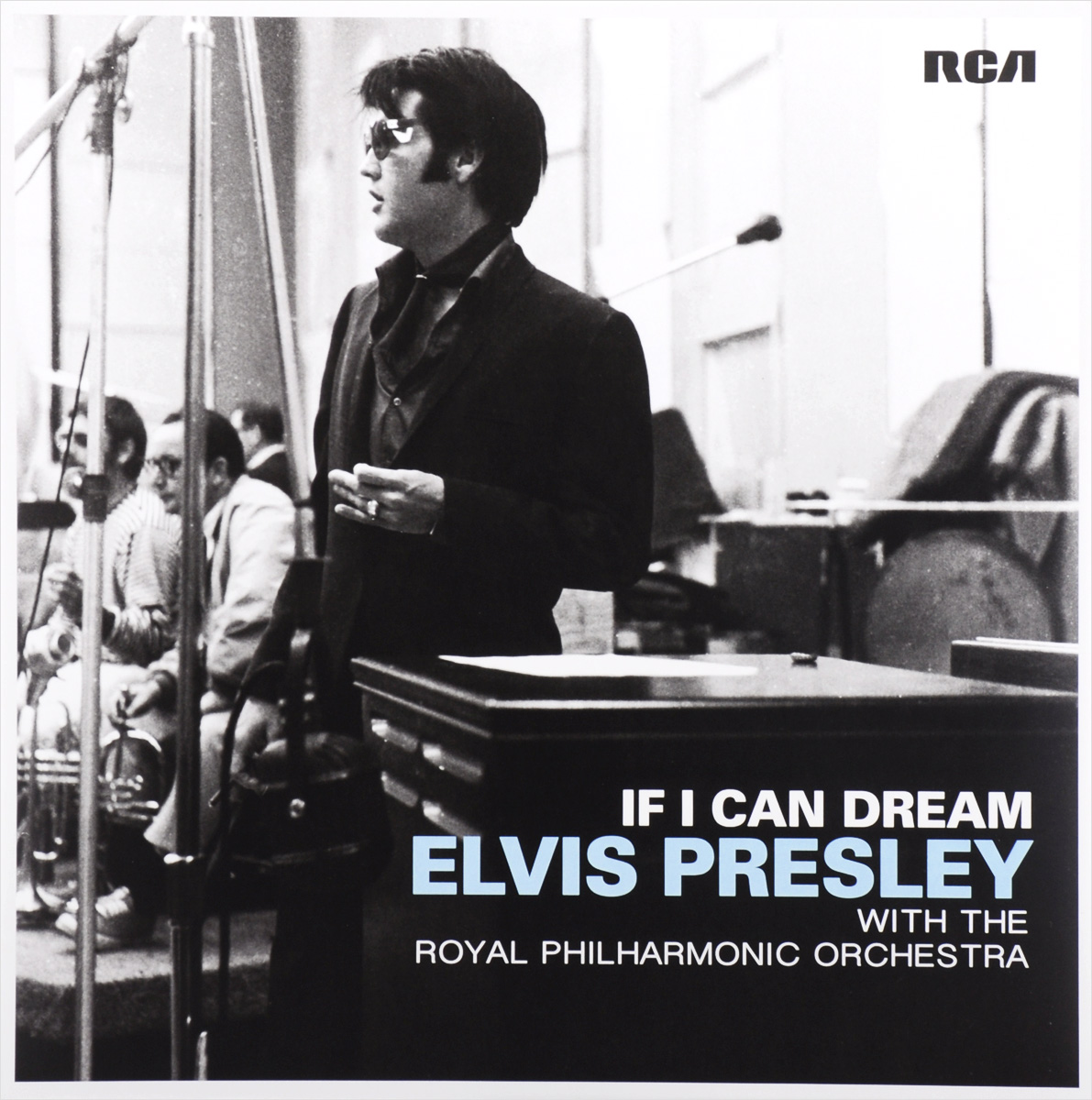 Элвис Пресли,The Royal Philharmonic Orchestra Elvis Presley With The Royal Philharmonic Orchestra. If I Can Dream (2 LP)