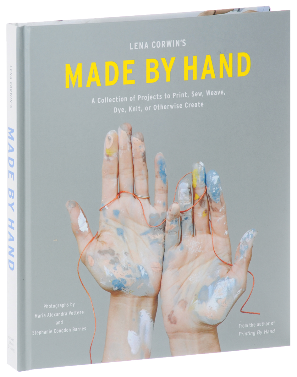 Lena Corwin's Made by Hand: A Collection of Projects to Print, Sew, Weave, Dye, Knit, or Otherwise Create painted by a distant hand – mimbres pottery of the american southwest