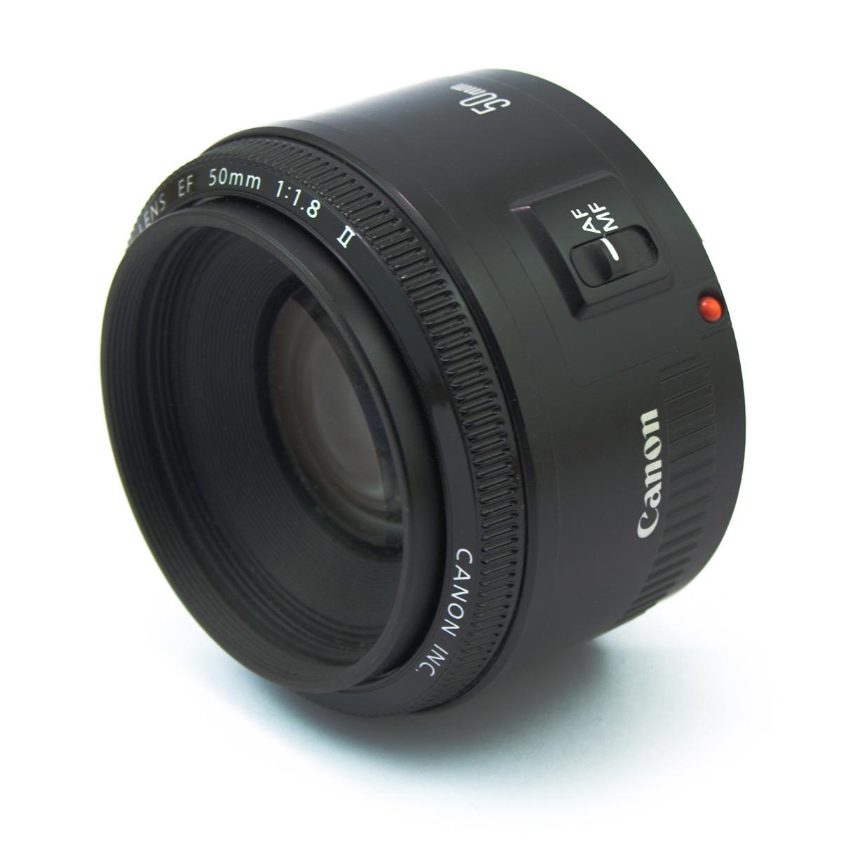 Canon EF 50 mm f/1.8 II объектив