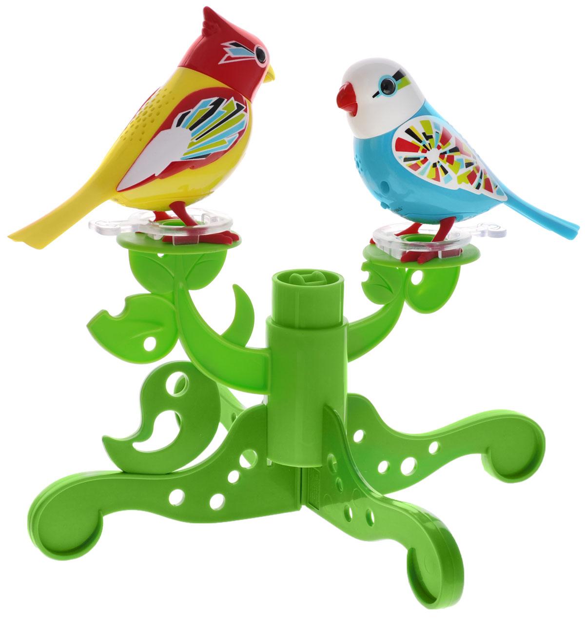 DigiBirds Интерактивный игровой набор Птички на дереве - Интерактивные игрушки