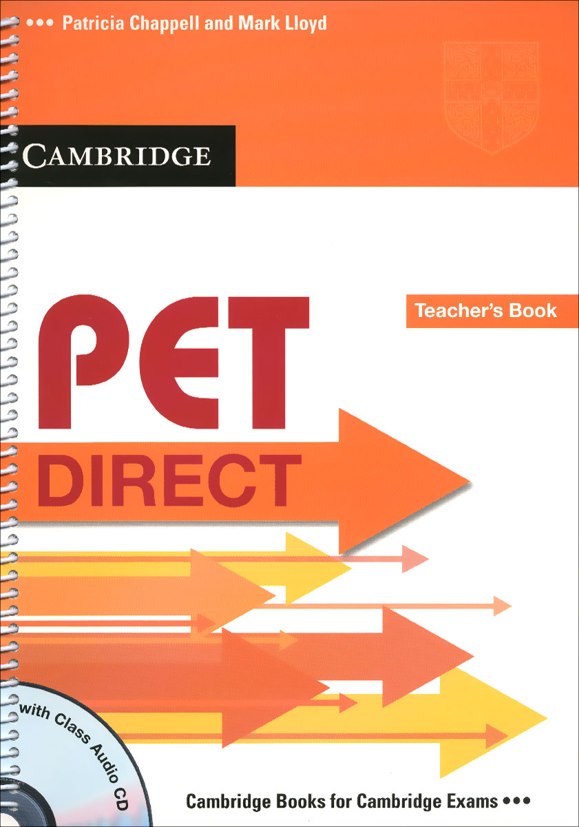 PET Direct: Teacher's Book (+ CD) merry team 6 activity book audio cd