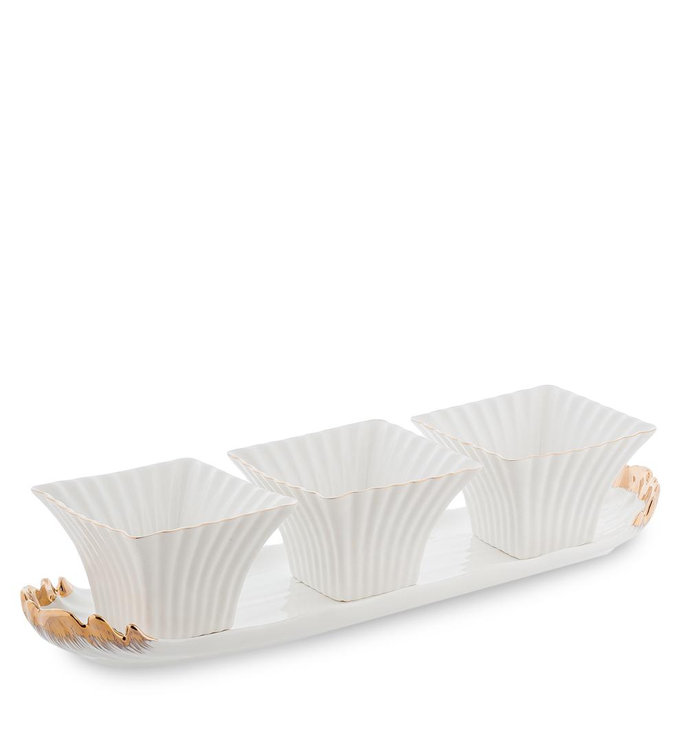 Набор соусников Морская ракушка (Pavone)10931