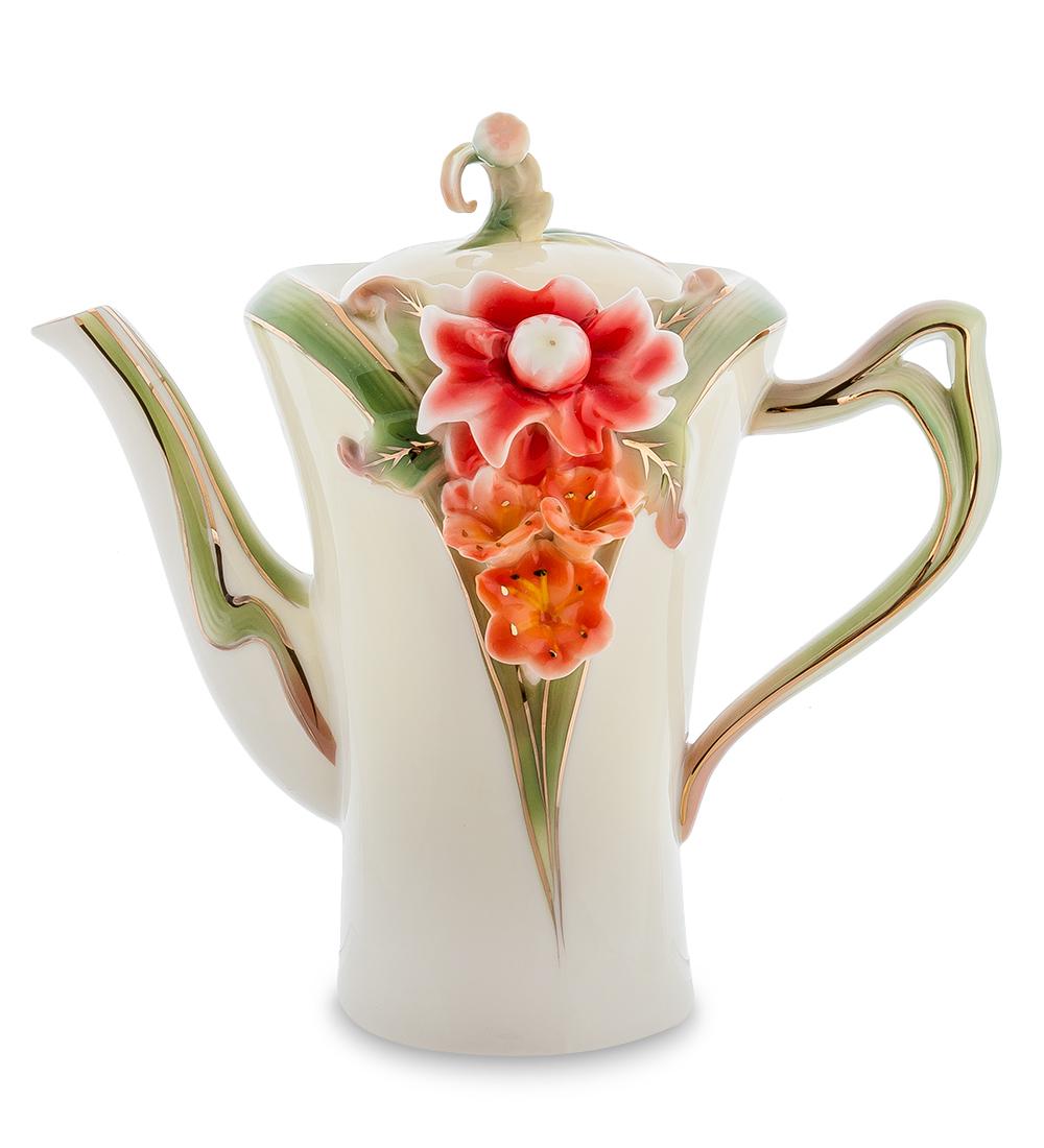 Чайник заварочный Pavone Георгин, 1,15 л104869Чайник заварочный Pavone Георгин изготовлен из высококачественной фарфора. Изделие декорировано изображением цветов. Такой чайник прекрасно дополнит сервировку стола к чаепитию и станет его неизменным атрибутом.
