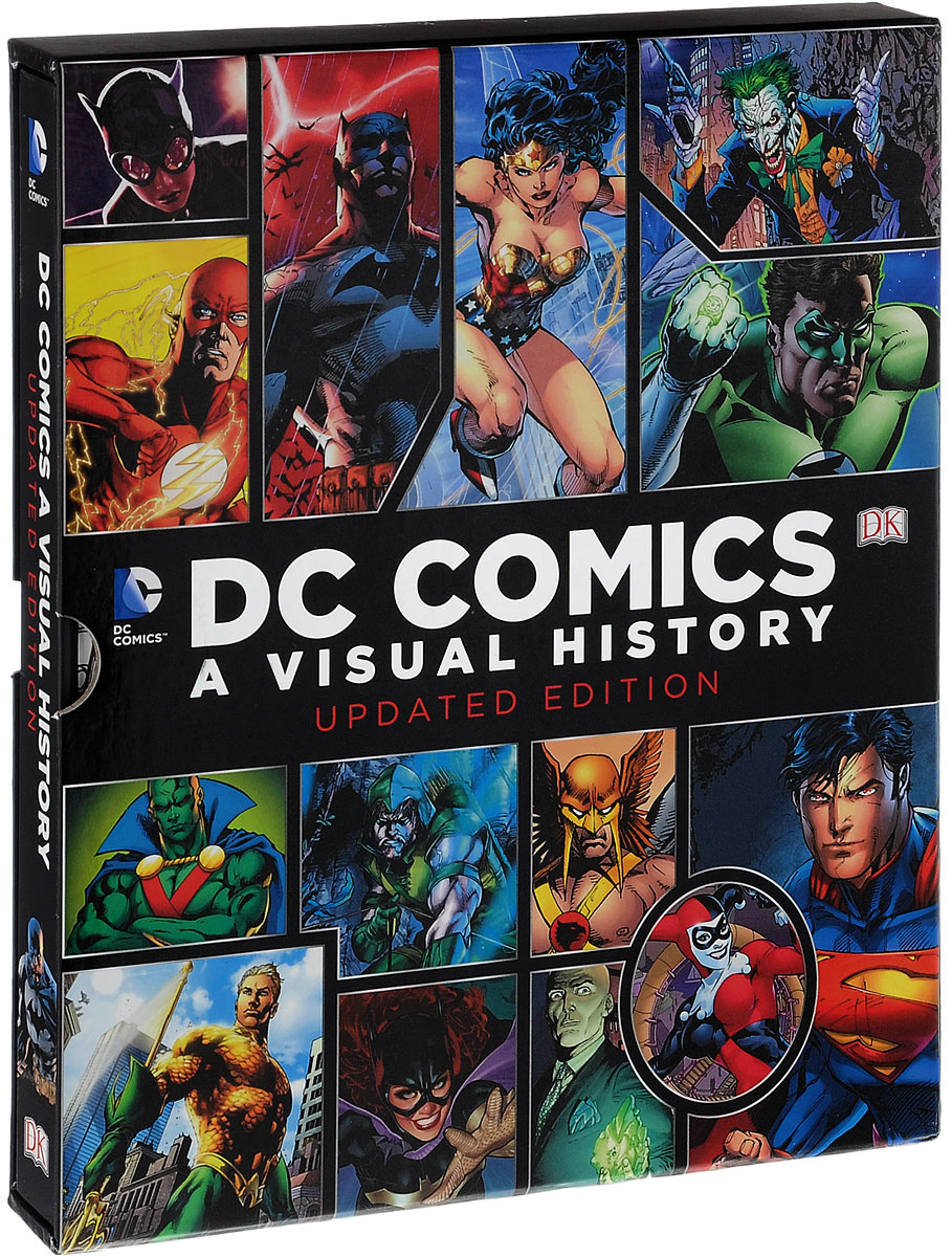 DC Comics: A Visual History cover run the dc comics art of adam hughes