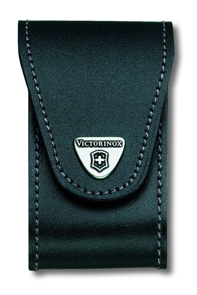 Чехол для ножей Victorinox, на ремень, цвет: черный, 10,5 см х 6 см