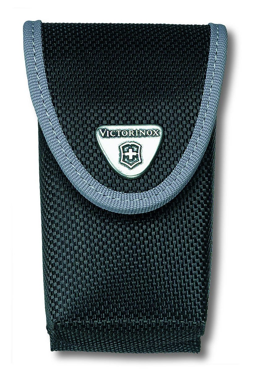 Чехол для ножей Victorinox, на ремень, цвет: черный, 10 см х 6 см чехол из нейлона victorinox ranger grip 4 0505 n черный без упаковки