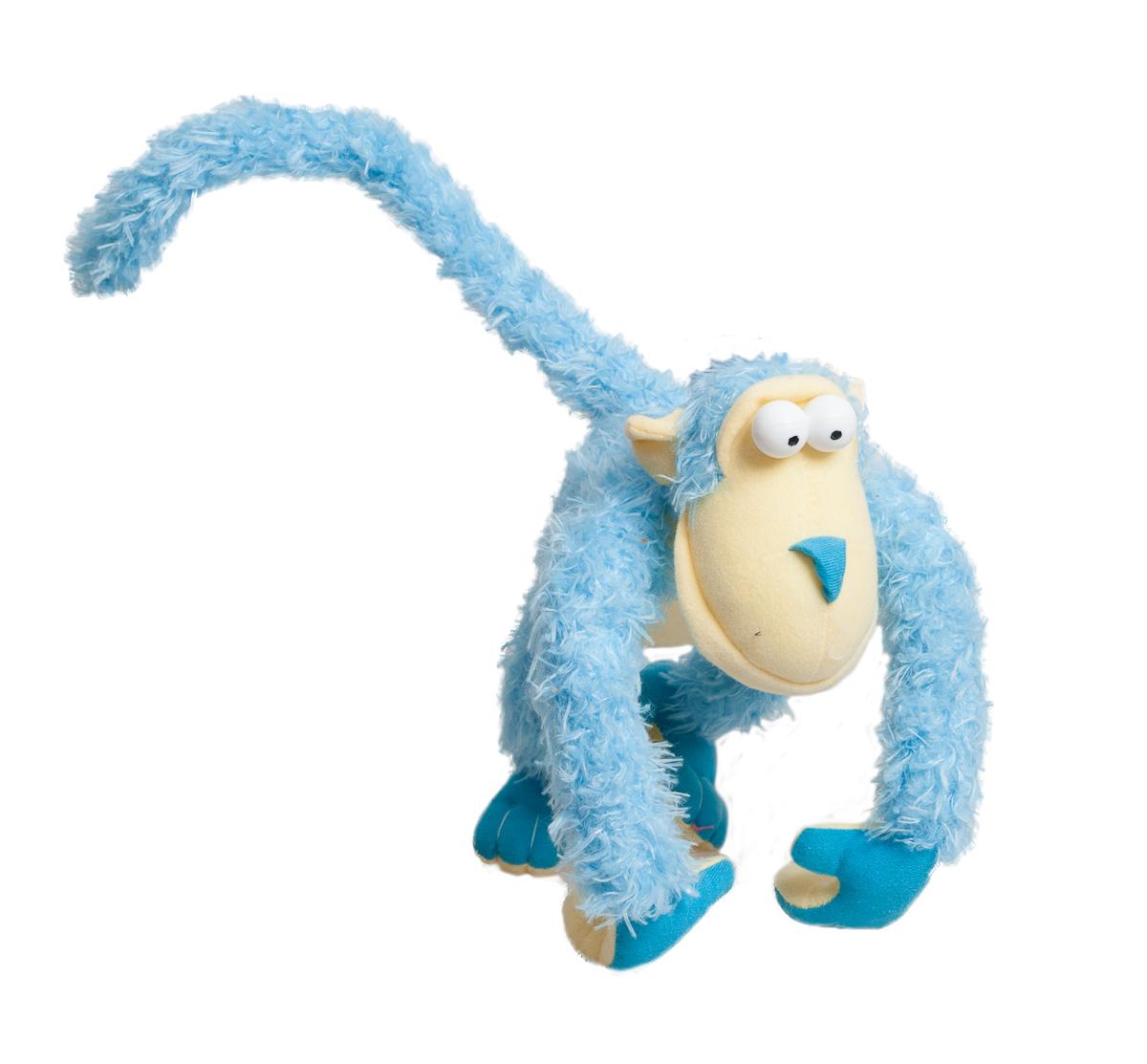 Fancy Мягкая игрушка Обезьянка Питто цвет голубой fancy мягкая игрушка собака эля 14 5 см
