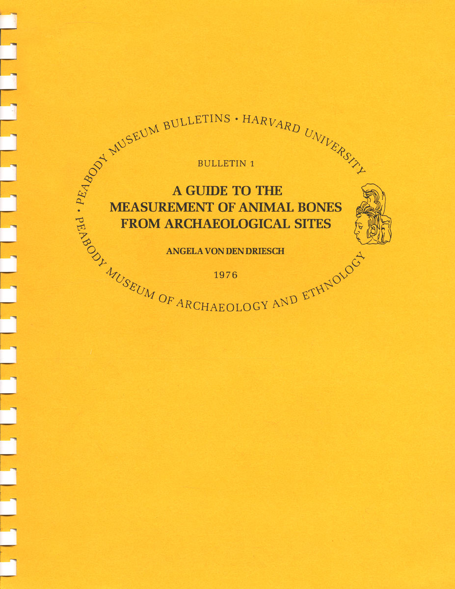 A Guide to the Measurement of an Animal Bones from Archaeologic Sites peace education at the national university of rwanda