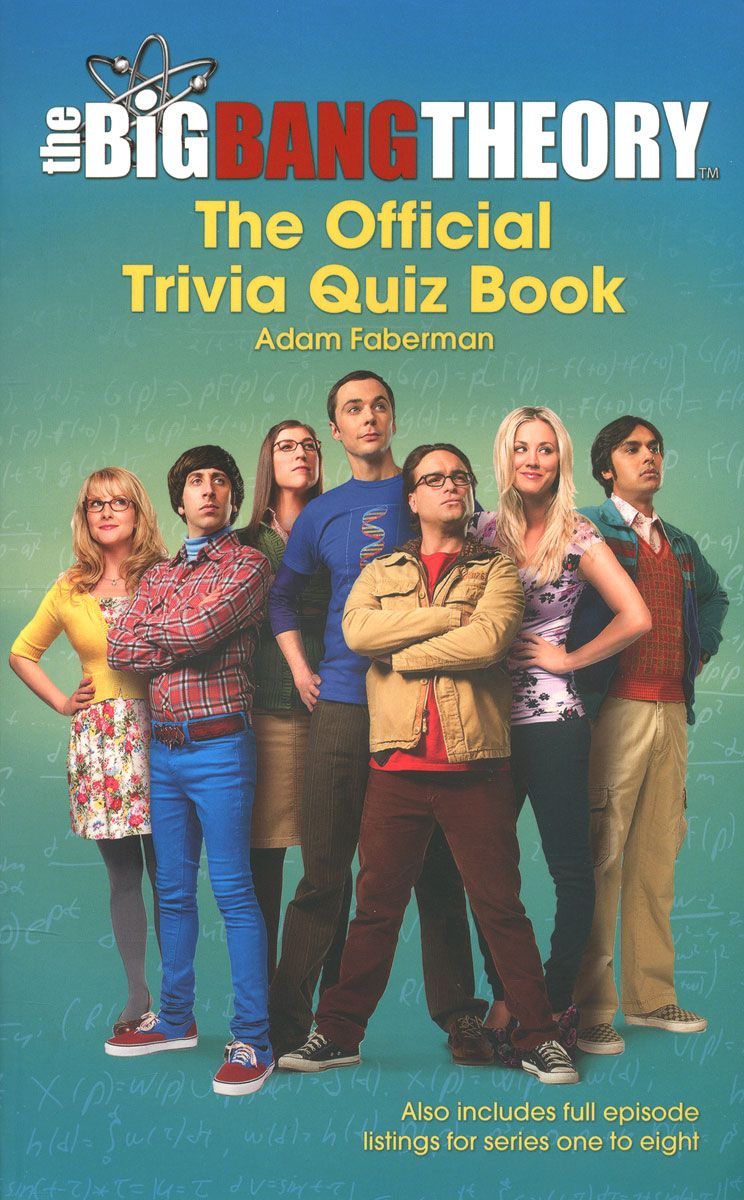 The Big Bang Theory: The Official Trivia Quiz Book big book of stars