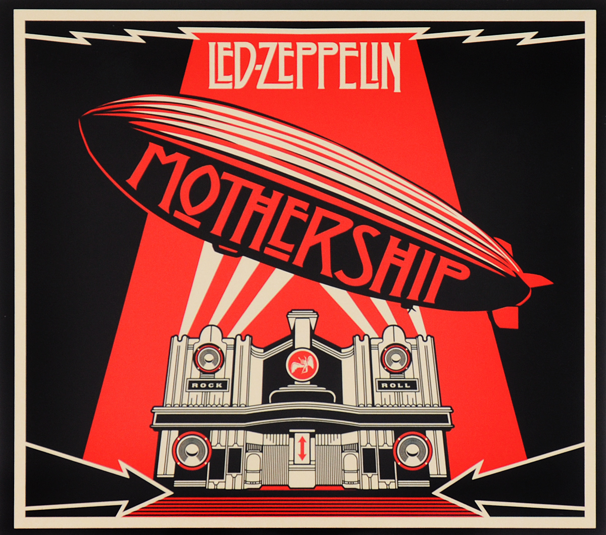 Led Zeppelin Led Zeppelin. Mothership (2 CD) led zeppelin mothership 4 lp