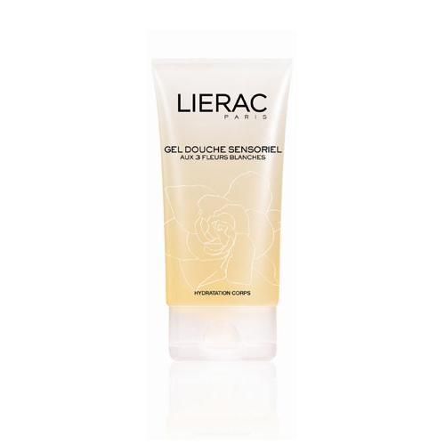 Lierac гель Sensoriel aux 3 fleurs для душа 150 млL645Гель-душ с нежным ароматом белых цветов превращается в нежную пену при соприкосновении с водой. Экстракты из белых цветов (камелия, гардения, жасмин) обладают антиоксидантным и регенерирующим свойствами. Обеспечит максимальный комфорт очищенной и увлажненной кожи. Придает телу приятный утонченный аромат.