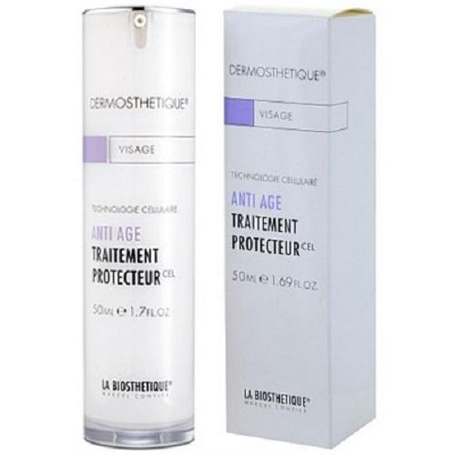 LaBiosthetique Клеточно-активный защитный дневной крем Dermosthetique, 50 млLB2815Крем активно замедляет старение, поскольку содержит экстракт клеточной культуры яблока, который удлиняет жизненный цикл материнских клеток в глубоких слоях кожи, улучшает обменные процессы в тканях, что способствует увеличению выработки коллагена и укреплению эластина. В состав крема, так же входит экстракт бурых водорослей, улучшающий метаболические процессы в коже, повышающий ее ферментативную активность, таким образом препятствующий появлению признаков старения. Входящая в состав, улучшенная форма гиалуроната - поперечно сшитая гиалуроновая кислота, повышает способность кожи связывать влагу лучше, чем ее обычная форма. Крем повышает естественные защитные свойства кожи от УФ-лучей и перепада температур, благодаря экстракту морских водорослей. В результате, укрепляется соединительная ткань, кожа становится упругой и эластичной, разглаживаются морщины и улучшается цвет лица.