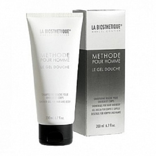 LaBiosthetique Гель-шампунь Methode Pour Homme для душа с увлажняющим комплексом, 200 мл givenchy pour homme blue label гель для душа для волос и тела 200 мл