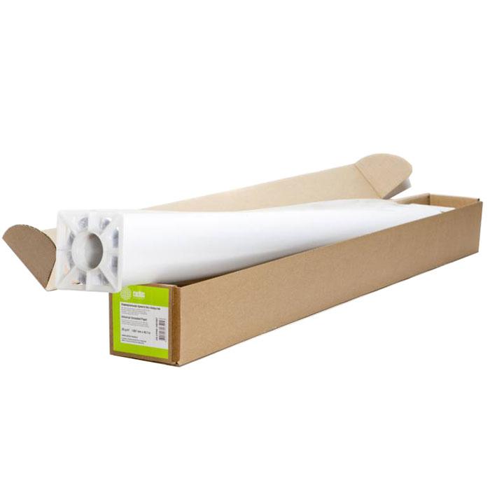 Cactus CS-LFP80-1067457 универсальная бумага для плоттеровCS-LFP80-1067457Универсальная бумага Cactus CS-LFP80-1067457 для плоттеров.Длина: 45,7 мШирина: 1,067 мВтулка: 50.8 мм (2)