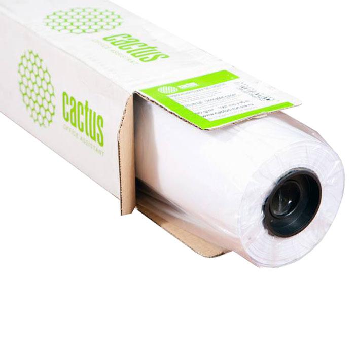 Cactus CS-PC90-91445 универсальная бумага для плоттеровCS-PC90-91445Универсальная бумага с покрытием Cactus CS-PC90-106745 используется для черно-белой печати, подходиттакже для цветных изображений с низкой заливкой и разрешением печати. Идеально подходит для печативсевозможной графики и технических чертежей.Длина: 45 м Ширина: 91,4 см Втулка: 50.8 мм (2)