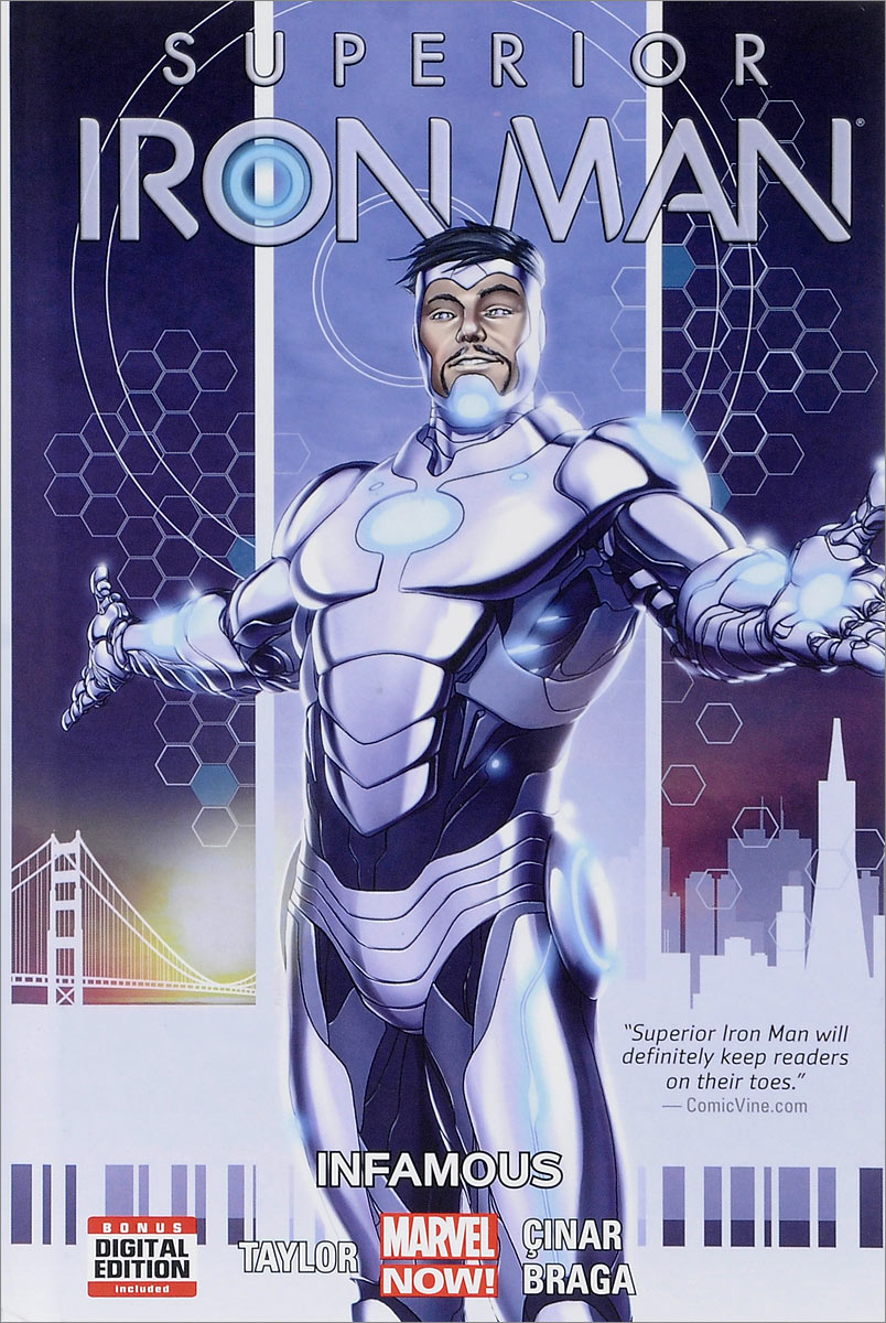 Superior Iron Man: Volume 1: Infamous liss david black panther the man without fear volume 1