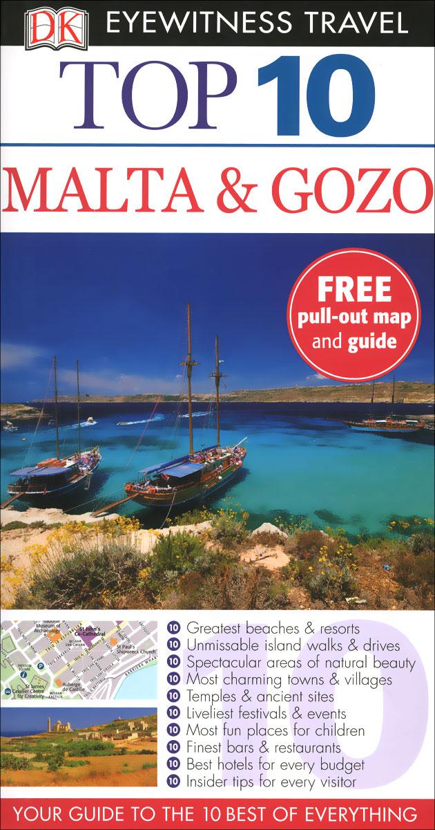 Фото Malta & Gozo: Top 10 (+ карта) dk eyewitness top 10 travel guide scotland