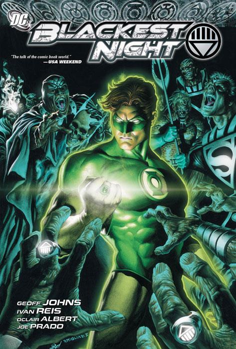 Blackest Night green lantern by geoff johns omnibus volume 3