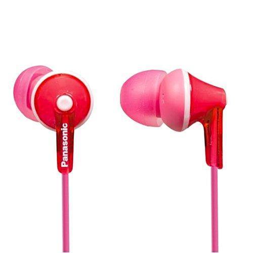 Panasonic RP-HJE125E, Pink наушникиRP-HJE125E-PОснованы на мощном динамике OctaRib Широкий диапазон частот: 10 Гц – 24 кГц Дизайн Ergofit: комфортная и точная фиксация в ухе Единая цветовая гамме корпусов и кабелей 3 пары сменных амбушюр в комплекте