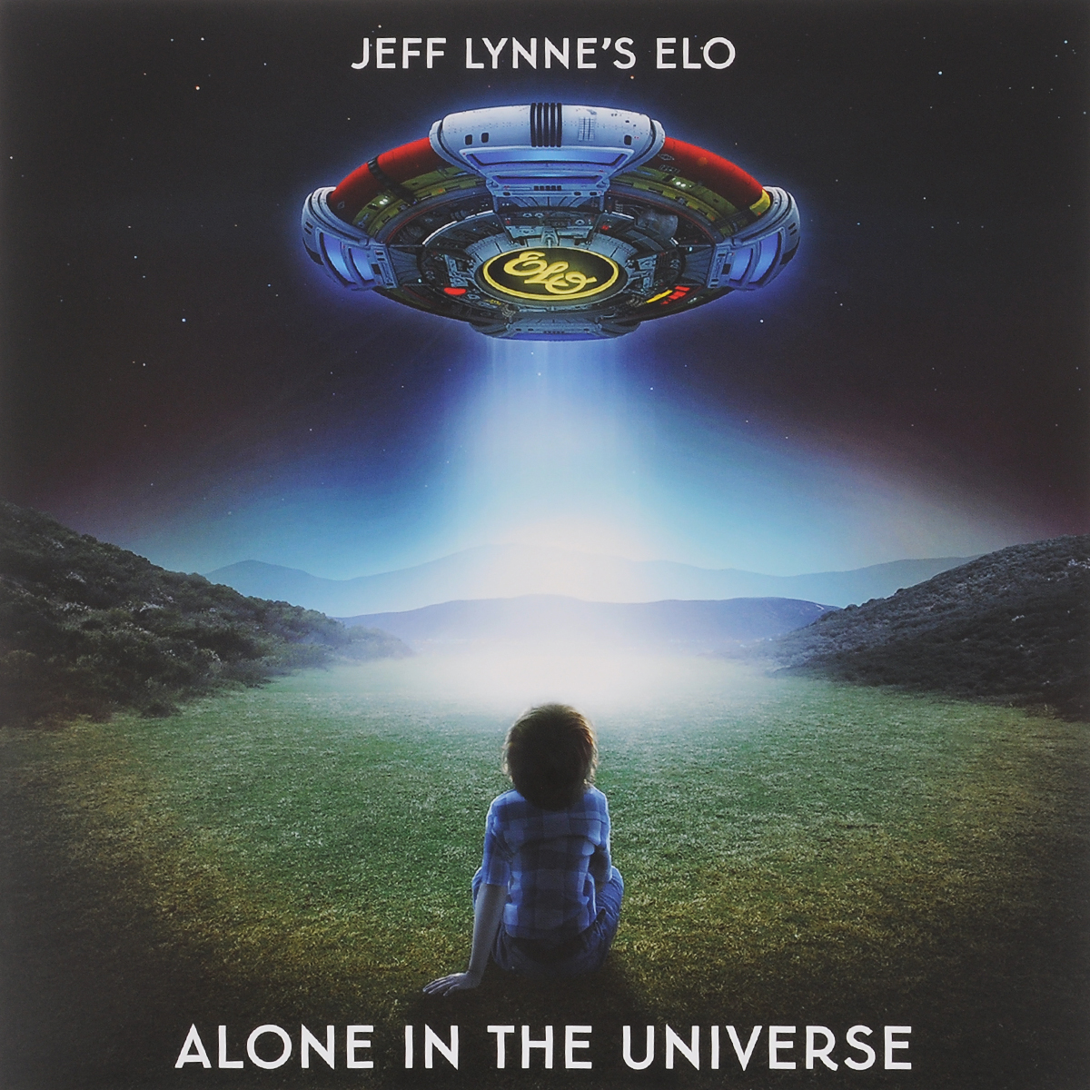 Electric Light Orchestra Jeff Lynne's Elo. Alone In The Universe (LP) electric light orchestra – a new world record lp