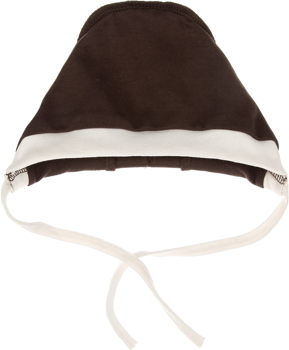 Чепчик Lucky Child Город, цвет: коричневый, светло-бежевый. 16-10. Размер 36 пижамы lucky child пижама