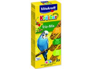 Крекеры для волнистых попугаев Vitakraft Kracker, фруктовые, 3 шт21237