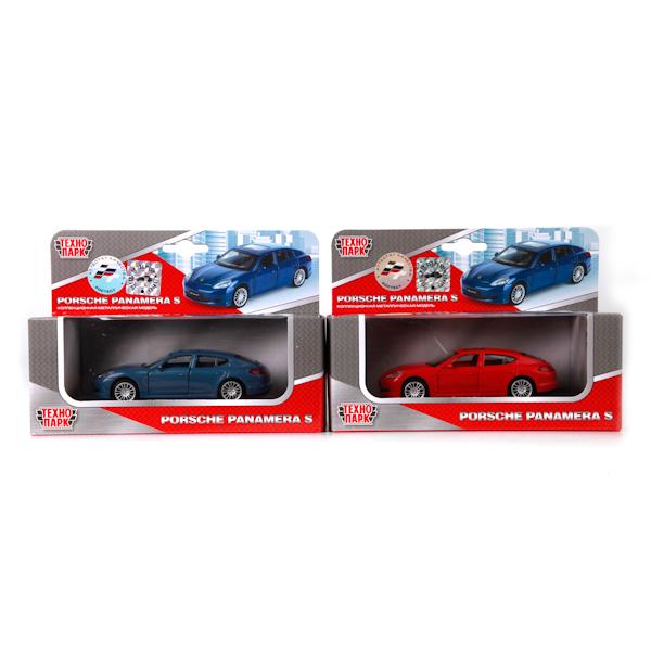 ТехноПарк Модель автомобиля Porsche Panamera S цвет красный точная копия швейцарских часов