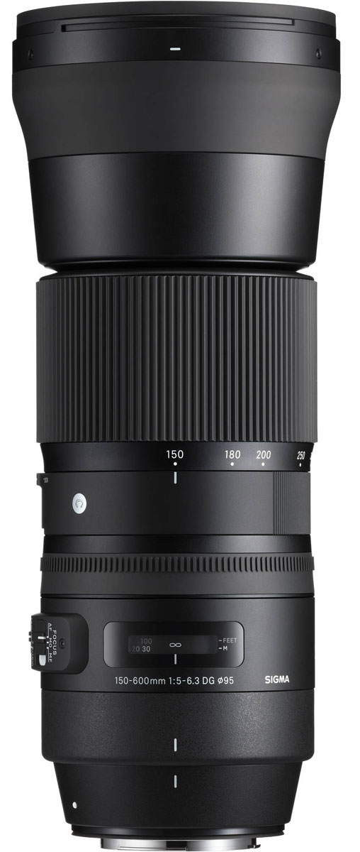 SigmaAF150-600mmF/5-6.3DGOSHSM|C, Black объектив для Nikon