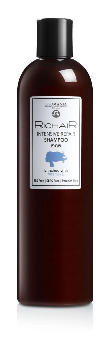 купить Egomania Professional Collection Шампунь «Richair» активное восстановление с витамином е 400 мл по цене 729 рублей