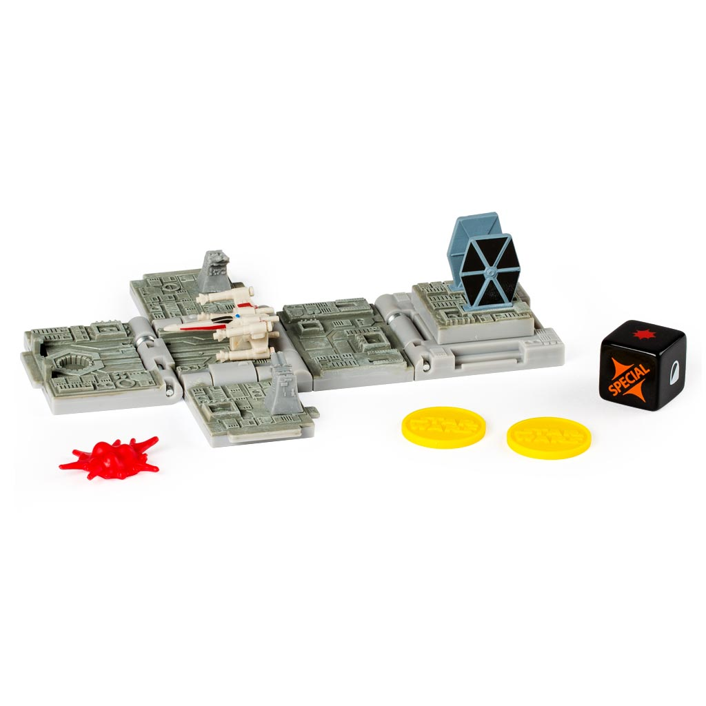 Spin Master Боевой кубик Звездные войны Battle Of Yavin транспорт нескучный кубик для равития интеллекта 2 кубика