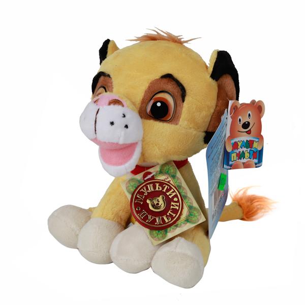 Мульти-Пульти Мягкая игрушка Львенок Симба 16 см малышарики мягкая игрушка собака бассет хаунд 23 см