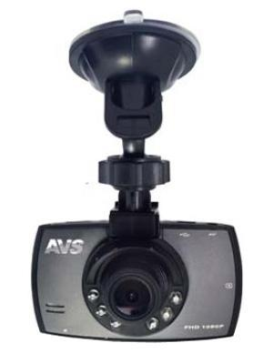 AVS VR-246DUAL, Black автомобильный видеорегистратор видеорегистратор erisson vr gf104