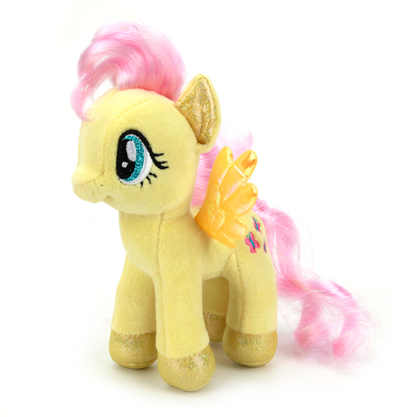 Мульти-Пульти Мягкая игрушка Пони флаттершай My little pony мульти пульти пони эпл джек со светом и звуком my little pony мульти пульти