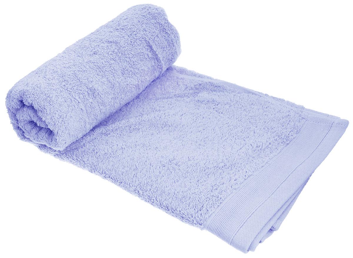 """Полотенце махровое """"Guten Morgen"""", цвет: небесно-голубой, 50 см х 100 см"""