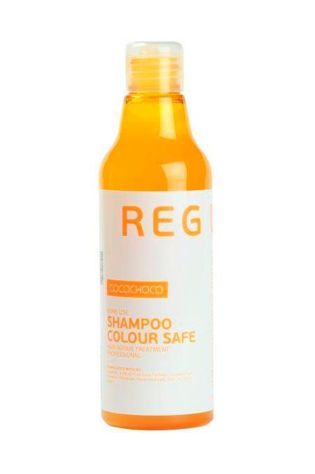CocoChoco REGULAR Шампунь для окрашенных волос 250 мл056Шампунь для регулярного применения. Используется для окрашенных или поврежденных волос, а так же после процедуры кератинового восстановления волос. Мягкое бережное очищение, эффективный уход за окрашенными и поврежденными волосами для максимального блеска и продления стойкости цвета окрашенных волос.