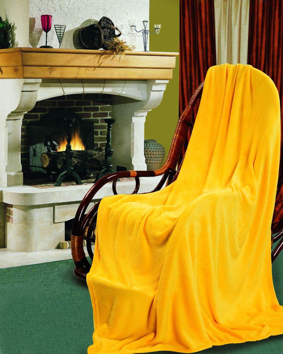 "Покрывало Гутен Морген ""Дыня"", цвет: желтый, 150 х 200 см"