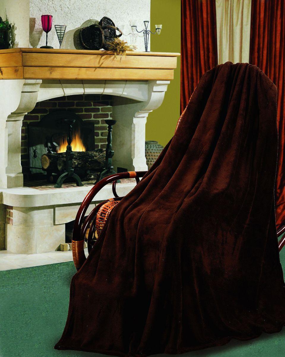 Покрывало флисовое Диана, цвет: шоколад, 150 см х 200 смПФКОР-150-200Изящное покрывало Диана, выполненное из корал флиса (100% полиэстер), гармонично впишется в интерьер вашего дома и создаст атмосферу уюта и комфорта. Корал флис имеет фактуру велюра, ткань приятная на ощупь, мягкая и слегка пушистая, но при этом очень легкая, хорошо сохраняет тепло, устойчива к стирке и износу. Такое покрывало согреет в прохладную погоду и будет превосходно дополнять интерьер вашей спальни. Высочайшее качество материала гарантирует безопасность не только взрослых, но и самых маленьких членов семьи.Покрывало может подчеркнуть любой стиль интерьера, задать ему нужный тон - от игривого до ностальгического. Покрывало - это такой подарок, который будет всегда актуален, особенно для ваших родных и близких, ведь вы дарите им частичку своего тепла!