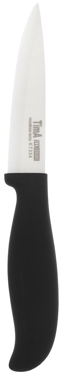 Нож универсальный TimA Bis, керамический, длина лезвия 10 смКТ334Нож универсальный TimA Bis изготовлен из высококачественной циркониевой керамики. Очень удобная и эргономичная рукоятка, изготовленная из пластика, не позволит скользить ножу в руках и обеспечит безопасность при нарезке продуктов. Нож предназначен для нарезки мяса, овощей и фруктов.Такой нож займет достойное место среди аксессуаров на вашей кухне.Длина ножа: 21 см.